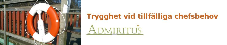 Admiritus  |  Interimschef